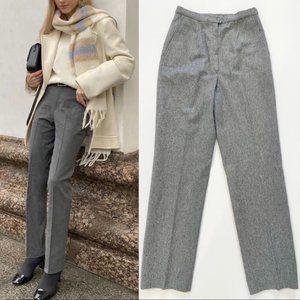 Vintage Pendleton 100% Virgin Wool Grey Pants 8